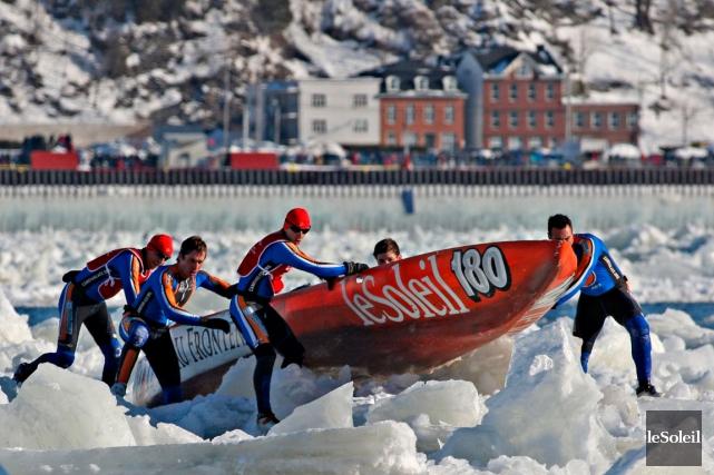Le public peut s'offrir une sortie en canot... (Photothèque Le Soleil, Pascal Ratthé)
