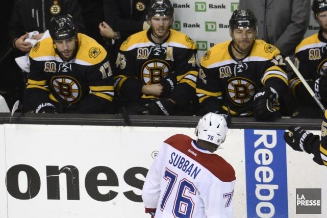 L'animosité entre certains joueurs des Bruins et du... (Photo Bernard Brault, La Presse)