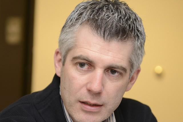 Le directeur général de la fromagerie Boivin, Luc... ((Photo Rocket Lavoie))