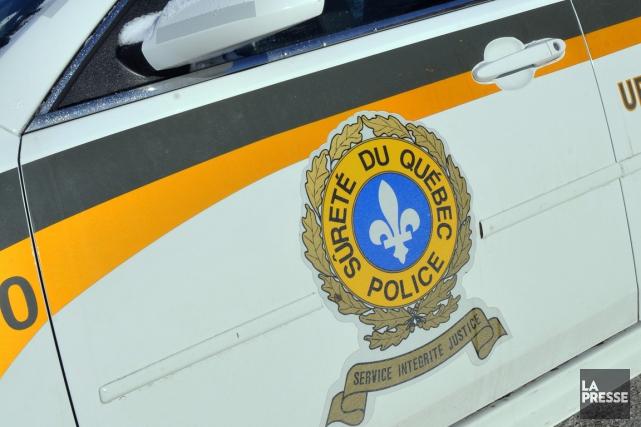 Un homme de 34 ans a été intercepté par les policiers de la Sûreté du Québec,... (Photothèque La Presse)