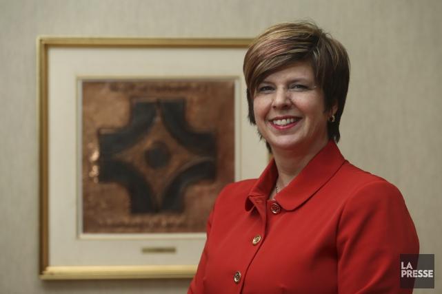 Lucie Tremblay, présidente-directrice générale de l'Ordre des infirmières... (Photo Martin Chamberland, La Presse)