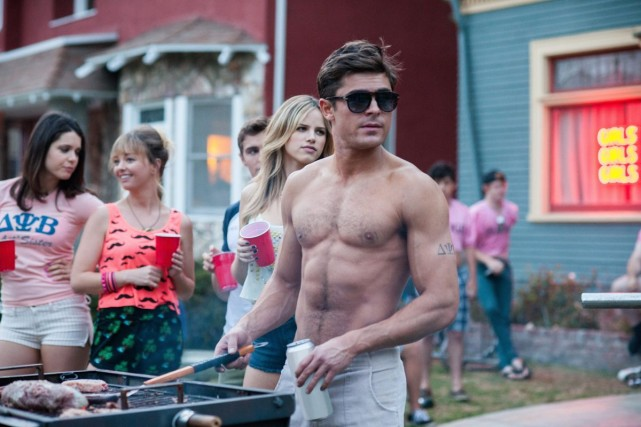 Zac Efron dans Neighbors.... (Photo fournie par Universal Pictures)