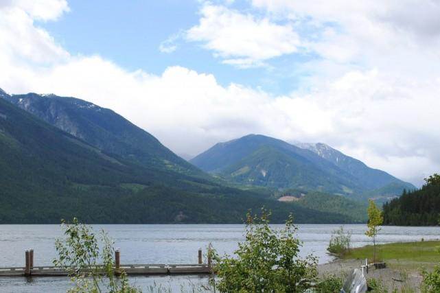 Le lac Slocanen Colombie-Britannique... (Photo Adrian Nieoczym, PC)