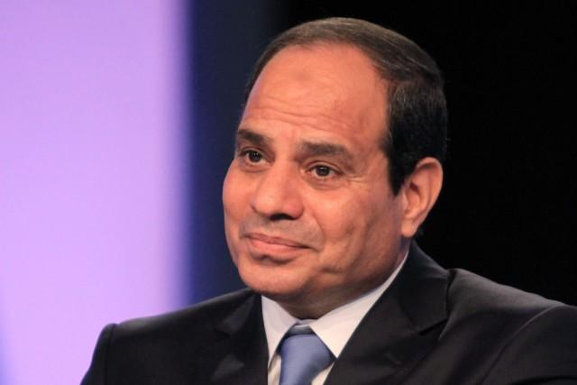 Abdel Fattah al-Sissi estdonné largement vainqueur de la... (Photo archives Agence France-Presse)