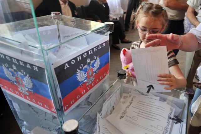 Le référendum a attiré une foule conséquente, peu... (Photo: AFP)