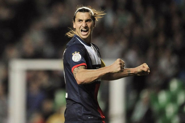 Zlatan Ibrahimovic... (Archives AFP)