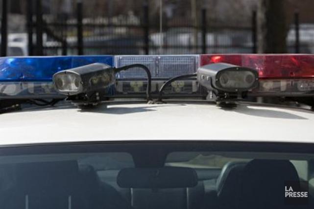 Un suspect recherché pour une tentative de meurtre a été arrêté au terme d'une... (PHOTO ARCHIVES LA PRESSE)