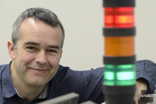 Louis Roy, président et cofondateur d'OptelVision va multiplier... (Photo Jean-Marie Villeneuve, Le Soleil)