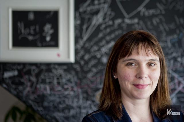 La journaliste Annie Desrochers a mis au monde... (Photo: Marco Campanozzi, archives La Presse)