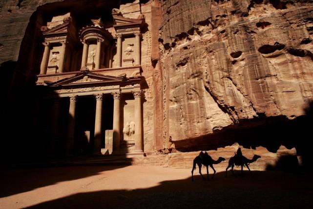 Outre plusieurs sites historiques, comme la célèbre cité... (Photo archives AP)
