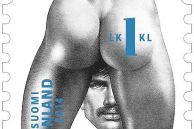 Timbre illustré par Tom of Finland.... (IMAGE ITELLA POSTI)