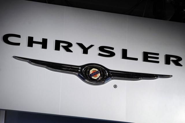 Le constructeur automobile américain Chrysler (groupe Fiat Chrysler) a annoncé... (PHOTO STAN HONDA, ARCHIVES AFP)