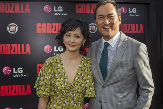 Ken Watanabe et sa femme, Kaho Minami, à... (Photo: AP)
