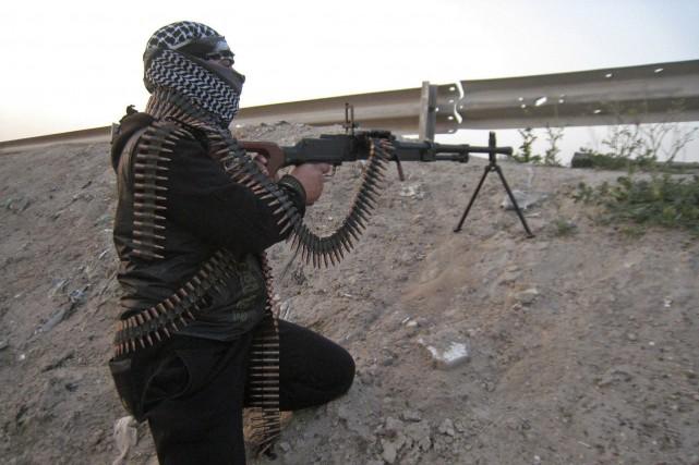 Douze islamistes armés ont été tués lors d'une opération de l'armée algérienne... (Photo Reuters)