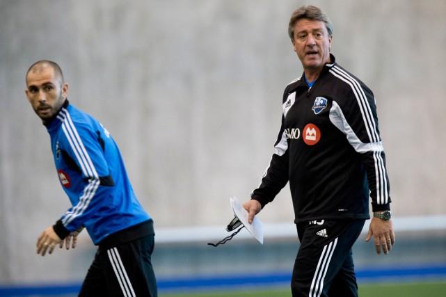 Marco Di Vaio (à gauche) a rappelé lundi... (Photo Paul Chiasson, archives PC)