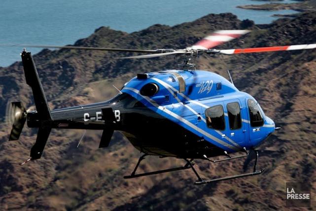 Un hélicoptère Bell 429... (Photo Kipp Baker, fournie par Bell)