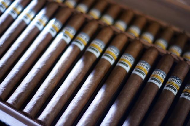 Pour Cuba,L'Amateur de cigarea placé en tête le... (Photo archives AFP)