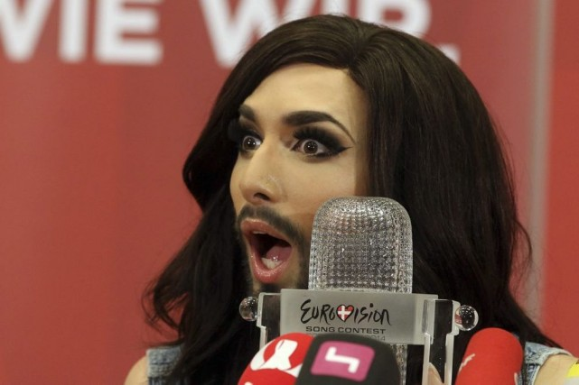 Conchita Wurst... (Photo: AP)