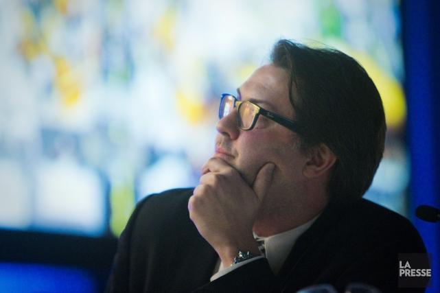 Le ministre provincial de l'Environnement, David Heurtel... (Photo André Pichette,La Presse)