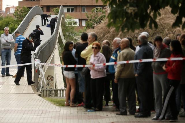 Ce meurtre a choqué le pays, peu habitué... (Photo CESAR MANSO, AFP)