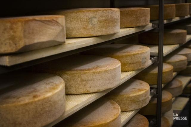 Selon l'UPA, le raz-de-marée de fromages européens sur... (Archives La Presse)