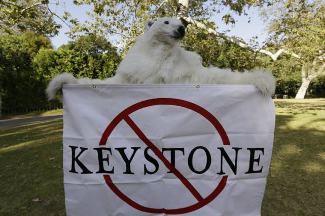 Le projet Keystone XL est décrié par différents... (Photo: AP)