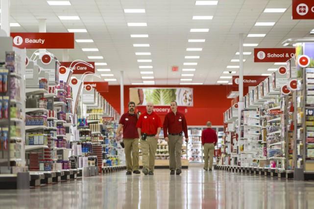 La première année de Target au Canada s'est... (Photo: Reuters)