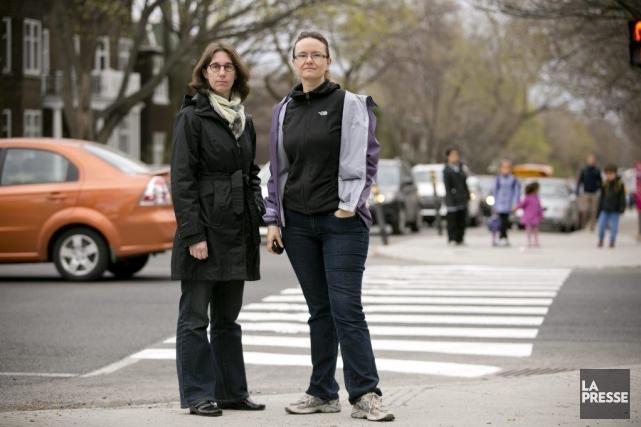 Dominique Sorel et Julie Blondin ont milité longtemps... (PHOTO DAVID BOILY, LA PRESSE)
