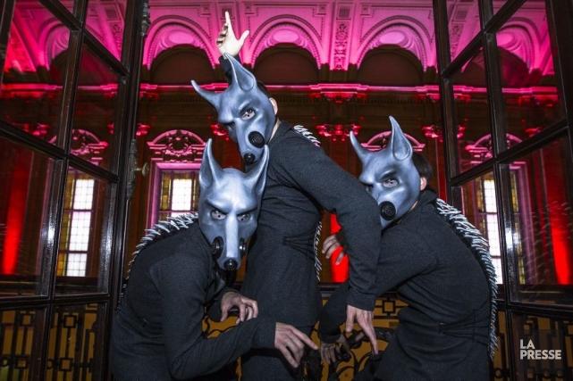 Pour Florian Ziemen, chef invité qui dirige l'Orchestre des Grands Ballets... (Photo: Olivier Pontbriand, La Presse)