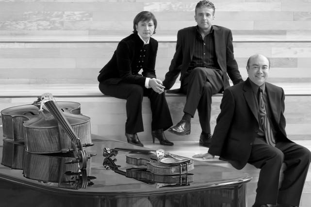 Le Trio Gryphon interprétera le célèbre À l'Archiduc... (Photo: fournie par le Festival Orford)