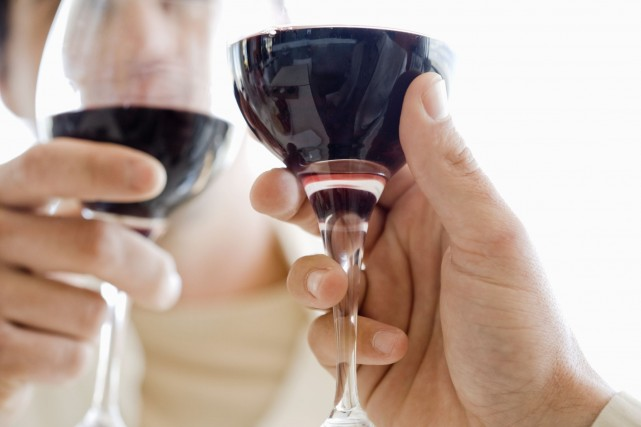 Des études montrent que la consommation de vin... (Photo Digital/Thinkstock)