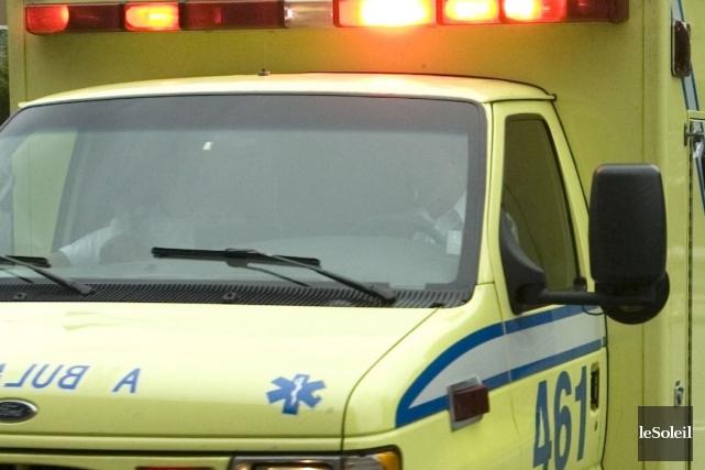 Un homme est mort après avoir été victime d'un accident de travail qui s'est... (Photothèque Le Soleil)