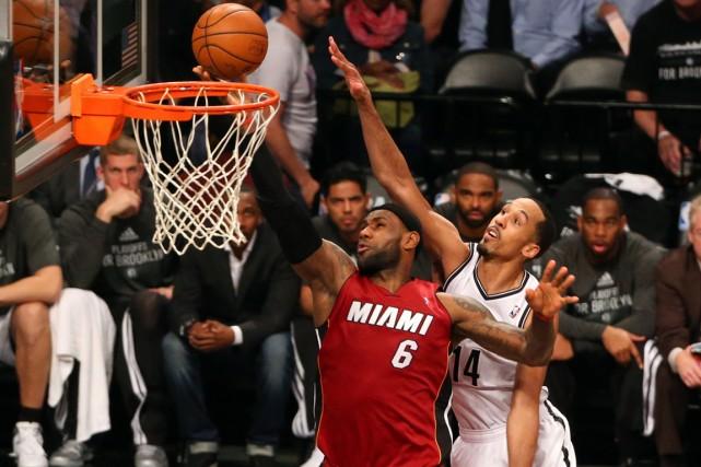 Le Heat de Miami n'est plus qu'à une... (Photo Anthony Gruppuso, USA Today)