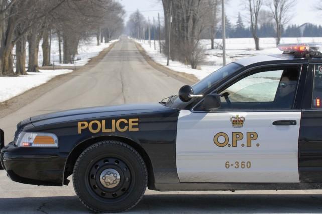 La Police provinciale de l'Ontario (OPP) enquête sur un incident survenu dans... (Photo archives La Presse Canadienne)