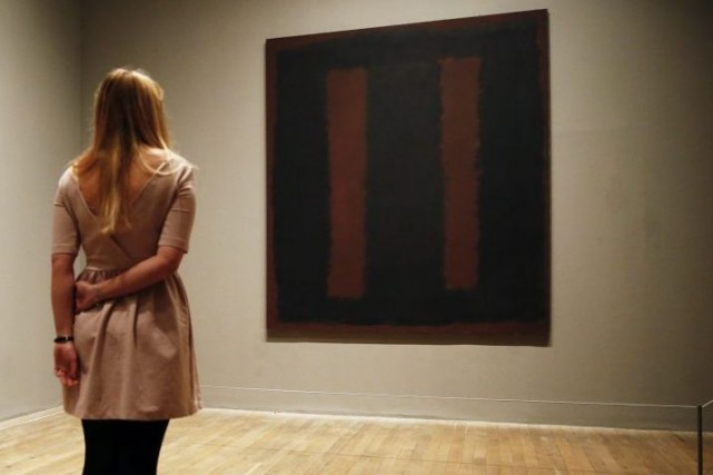 Black on Maroon de Mark Rothko... (Photo: Reuters)