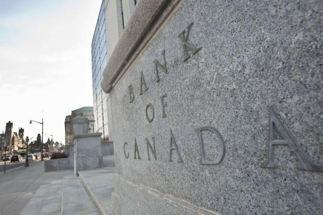 La Banque du Canada indique que les risques... (PHOTO GEOFF ROBINS, ARCHIVES AFP)
