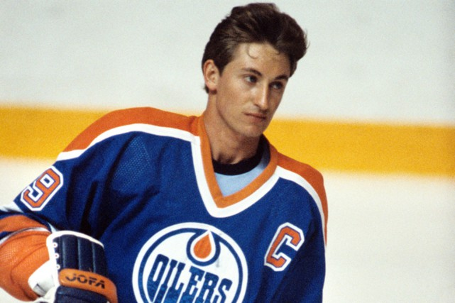 Wayne Gretzky... (Photo archives PC)