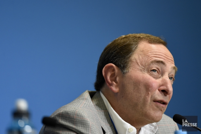 Gary Bettman... (Photo: Bernard Brault, archives La Presse)