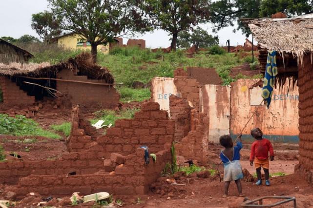La République centrafricaine est depuis plus d'un an... (Photo: AFP)