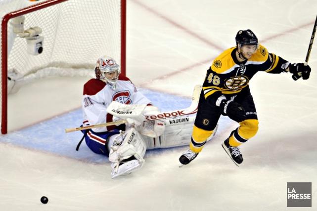 Le Canadien et les Bruins disputeront un septième... (Photo Bernard Brault, archives La Presse)