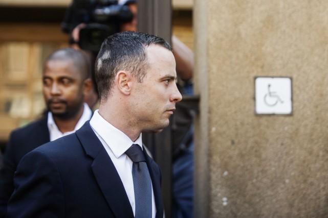 Le procès d'Oscar Pistorius a été ajourné jusqu'à... (PHOTO GIANLUIGI GUERCIA, AFP)