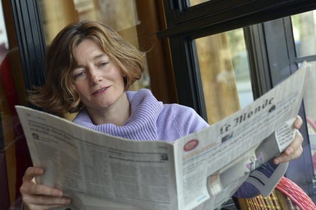 Les journalistes reprochaient à Natalie Nougayrède, 46 ans,... (Photo archives AFP)