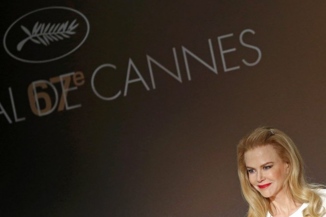 Le film Grace de Monacoavec Nicole Kidman,présenté hors... (PHOTO YVES HERMAN, REUTERS)