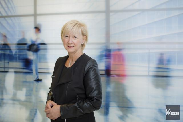 Diane Messier est vice-présidente accès à la profession... (PHOTO EDOUARD PLANTE-FRÉCHETTE, LA PRESSE)