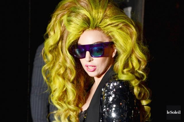 Lady Gaga... (Photothèque Le Soleil)