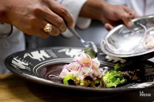 Ceviche de poisson classique... (Photo David Boily, La Presse)