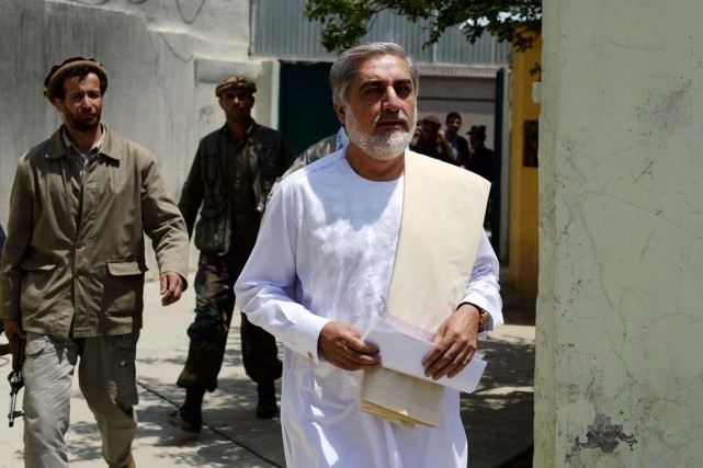 Abdullah Abdullah répète à l'envi qu'en l'absence de... (PHOTO WAKIL KOHSAR, AFP)