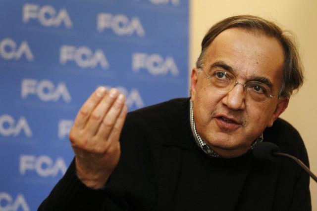 Sergio Marchionne, le PDG de FCA.... (Photo Rebecca Cook, Reuters)