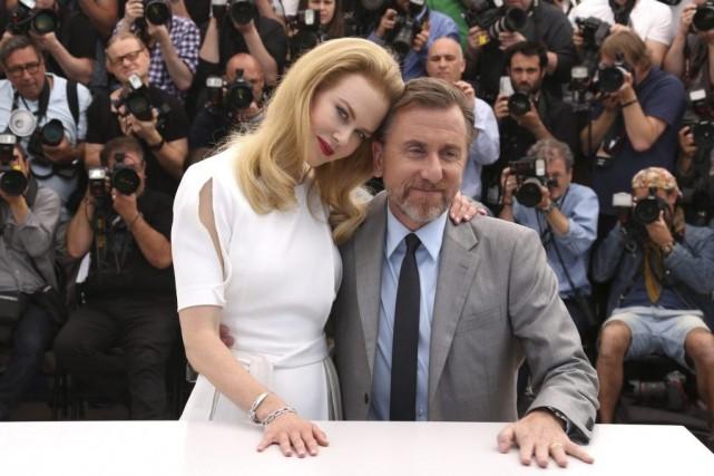 Les acteurs Nicole Kidman et Tim Roth, membres... (Photo Joel Ryan, Invision/AP)