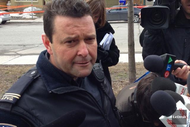 Le porte-parole de la police de Gatineau, Jean-Paul... (Patrick Woodbury, Archives Le Droit)